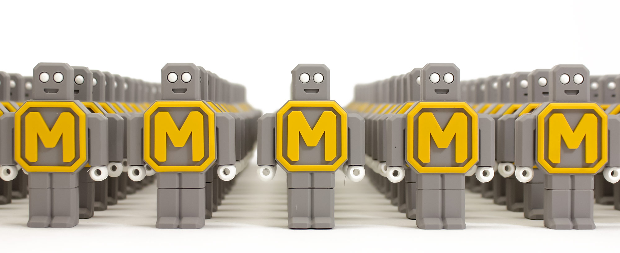 modkit custom robot usb flash drive