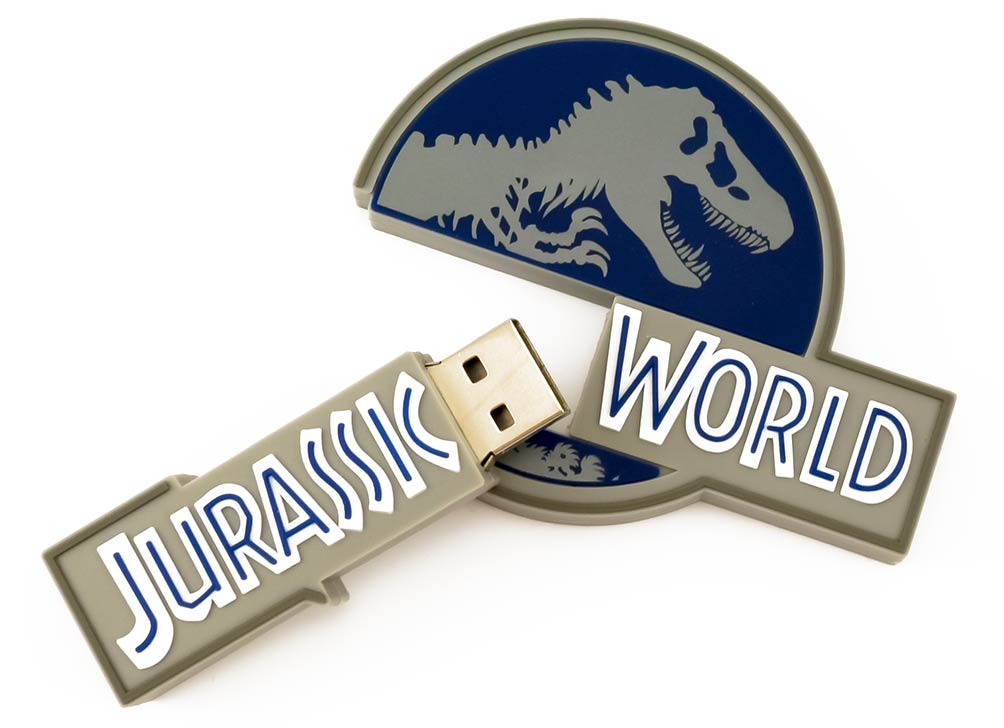 Jurassic World USB Custom Flash Drives