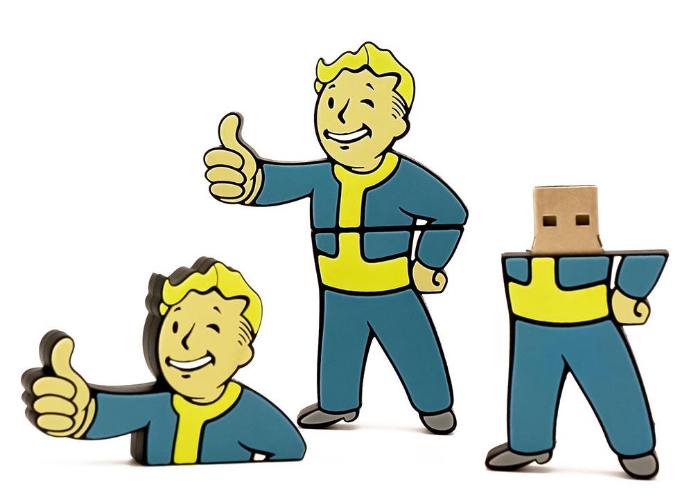 Vault Boy Fallout USB Flash Drive