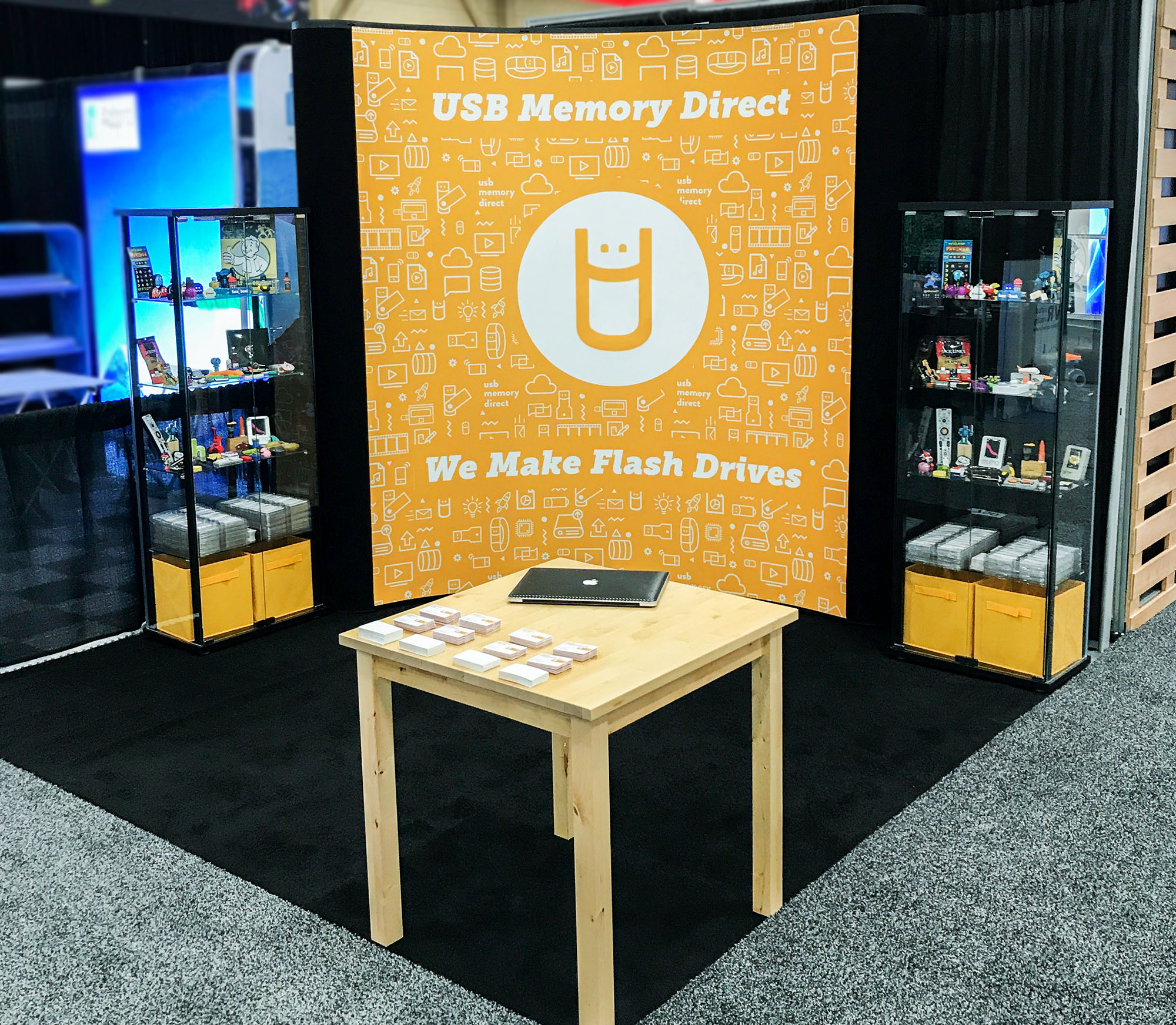 USB Memory Direct Trade Show Booth