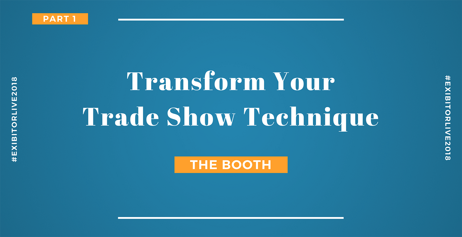 Improve your tradeshow performance