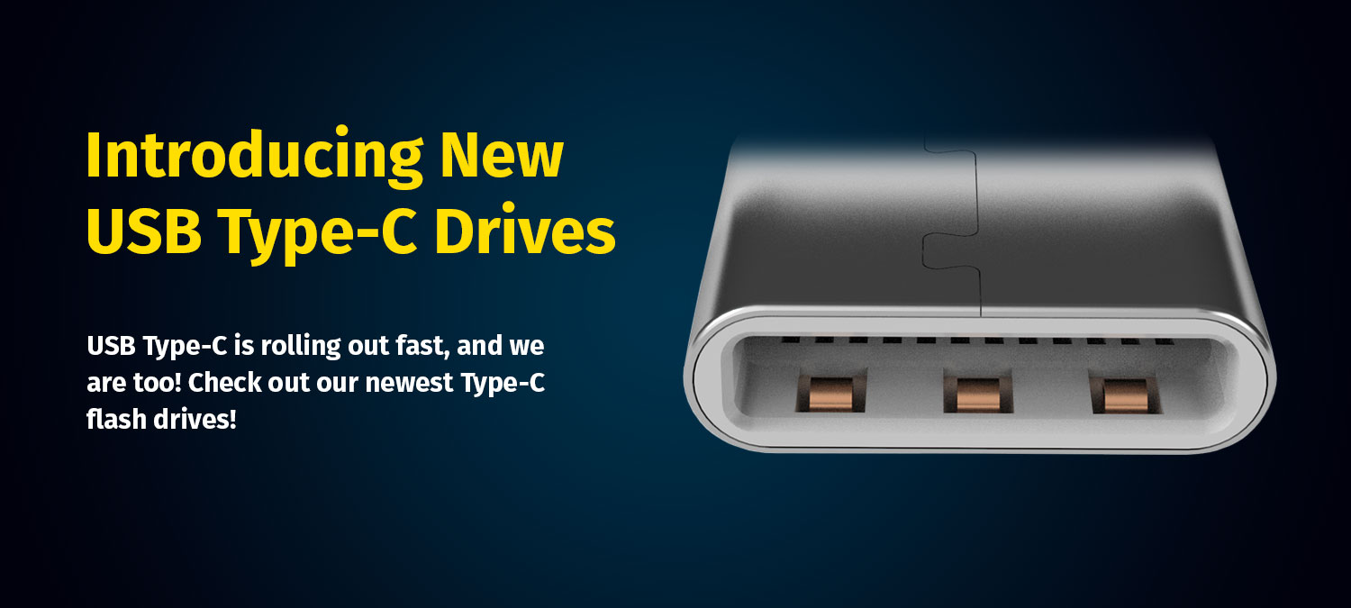 New USB Type-C flash drives