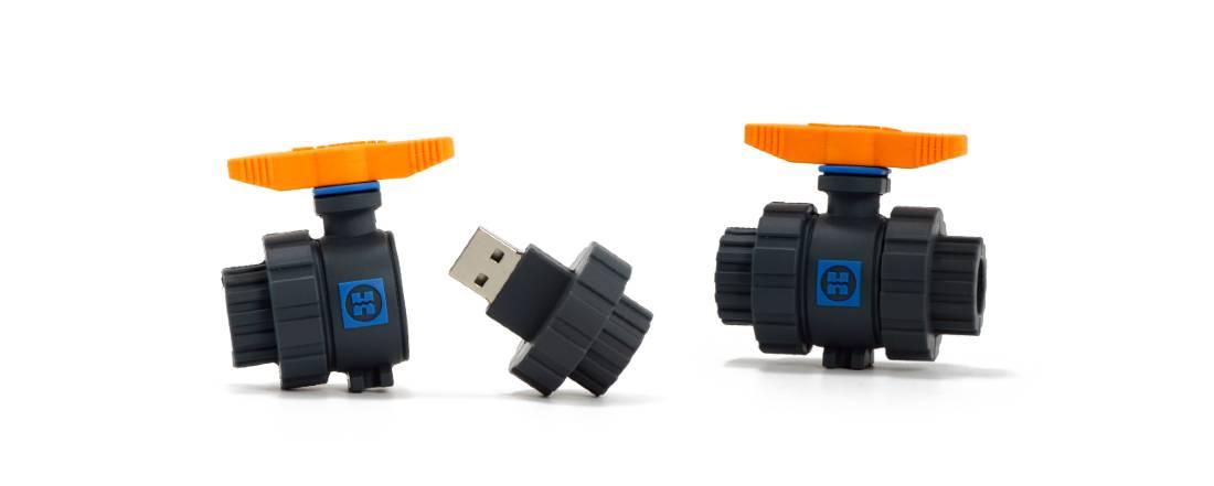 Industrial product custom flash drives