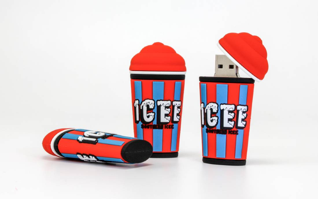 ICEE Cup promotional flash drives