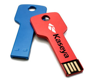 Key style branded flash drives