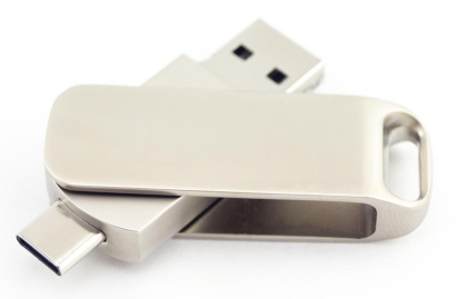 USB & USB-C dual headed flash drive