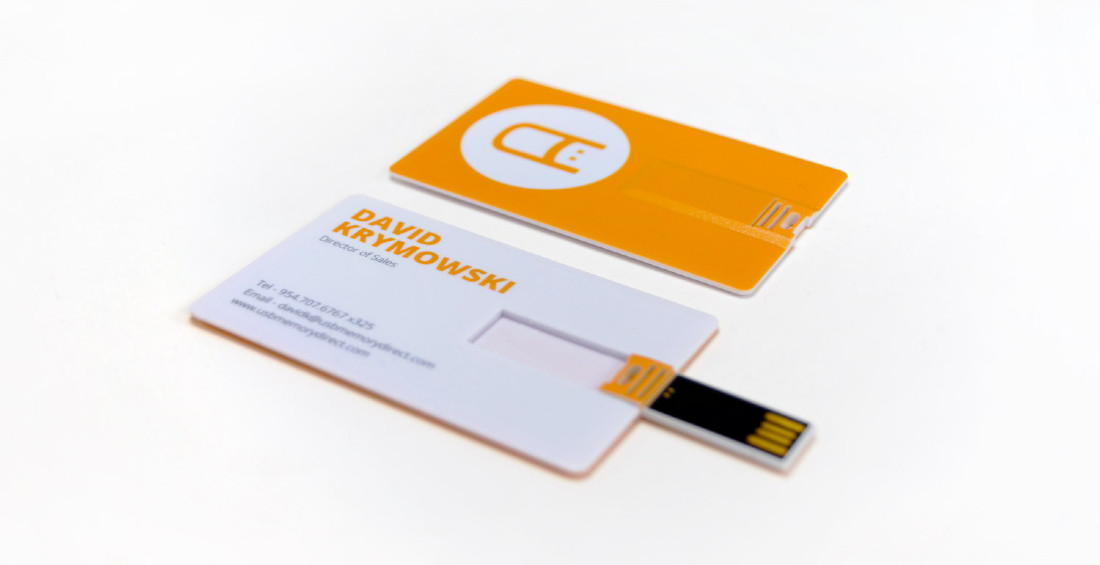 USB Business Cards for USB Memory Direct