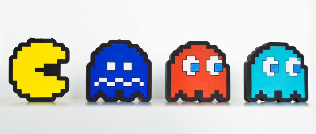 Pac-Man custom USB flash drives