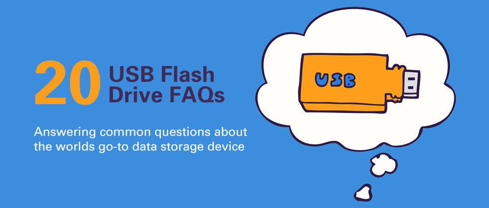 USB flash drives FAQs banner