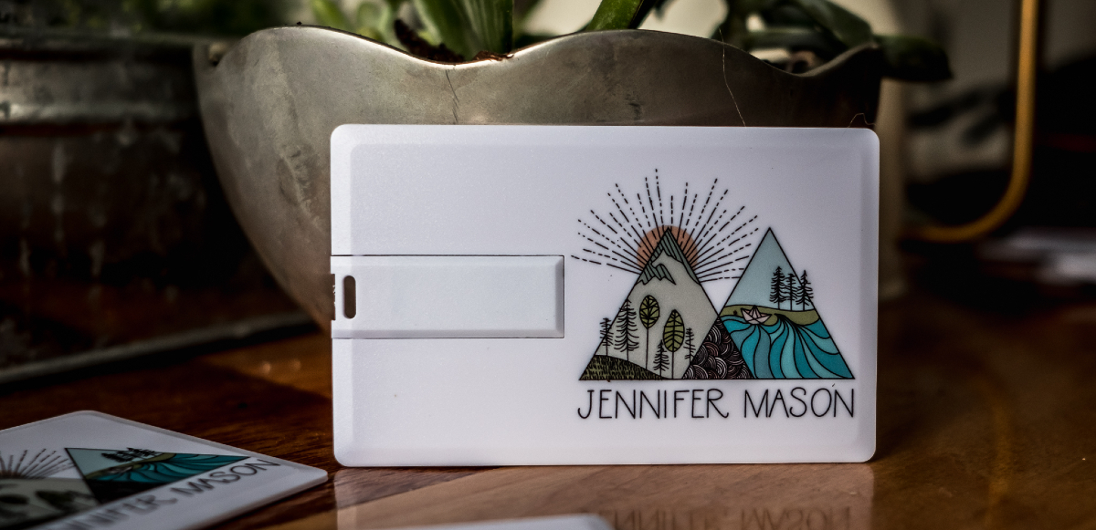 USB business cards for photographers
