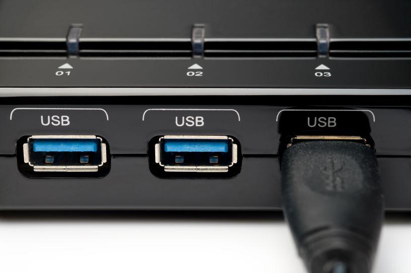 USB 3.0 ports