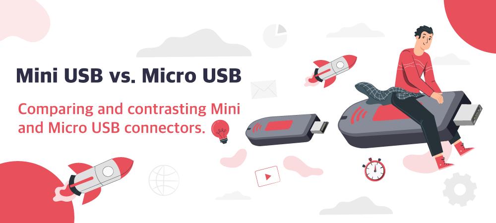 mini USB vs micro USB