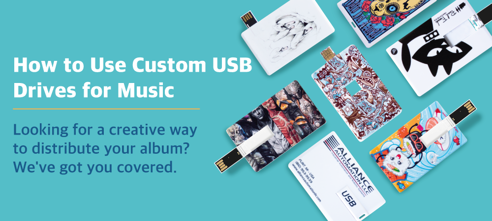 How to use custom USB drives for music