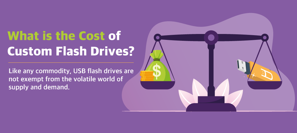What is the cost of custom flash drives