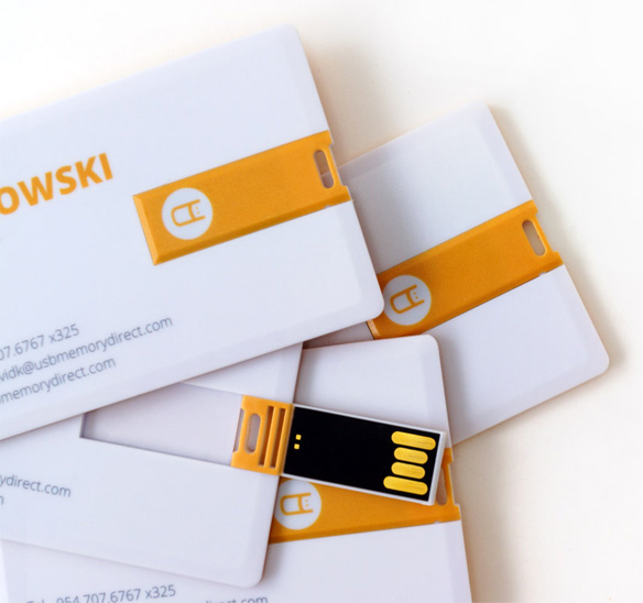 Business Card USB Flash Drives