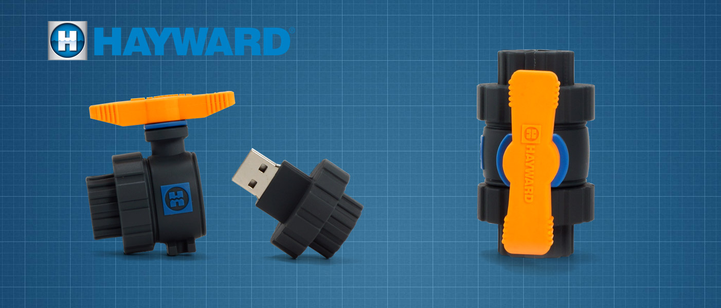 Hayward Custom Shaped Usb Drives