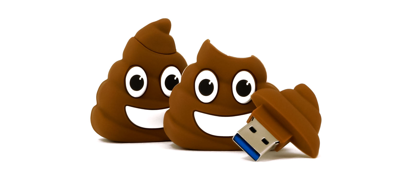 Poop Emoji Usb Flash Drive 1