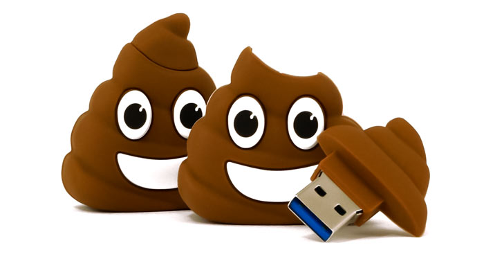 Poop Emoji Usb Flash Drive Thumbnail