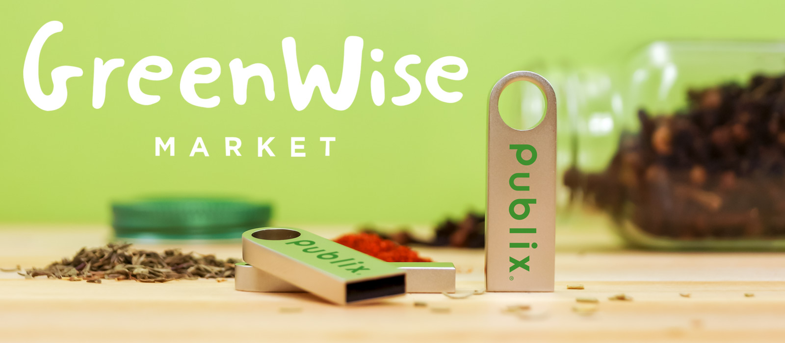 Publix Tab Style Usb Flash Drives 2