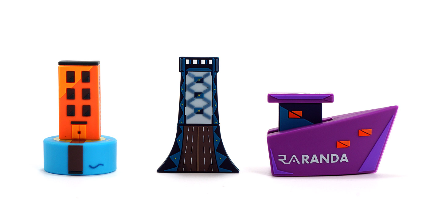 Randa Accessories Custom Shape Flash Drives 01