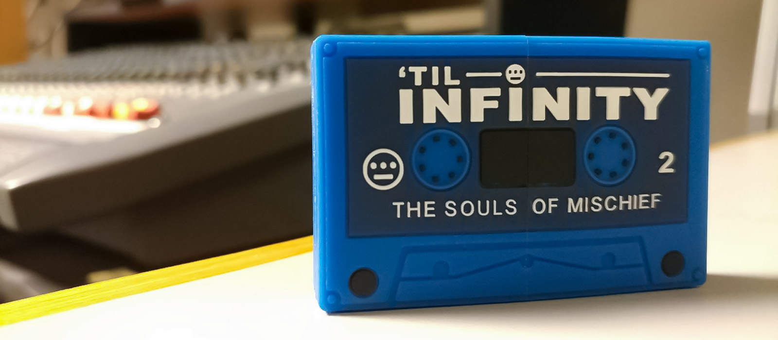 Souls Of Mischief Custom Flash Drive Cassette Tape 3