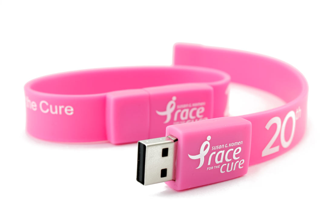 Wrist Braclet Flash Drive