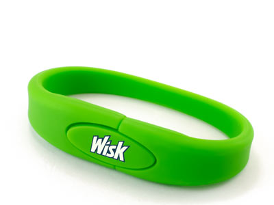 Wristii Rubber Flash Drives