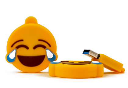Crying Laughing Emoji Usb Flash Drive 1 Thumbnail